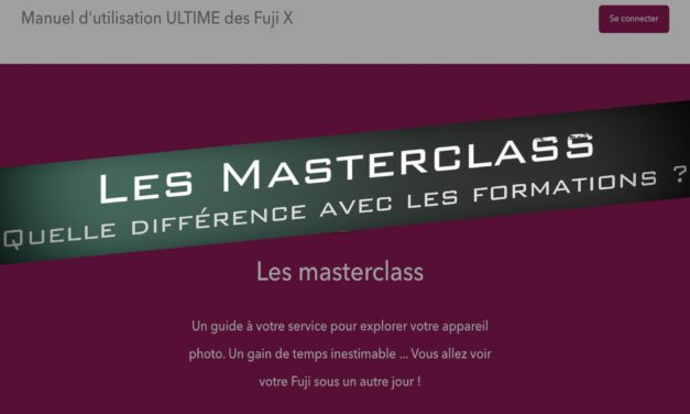 Masterclass ou Formation Photo : Quelle différence ?